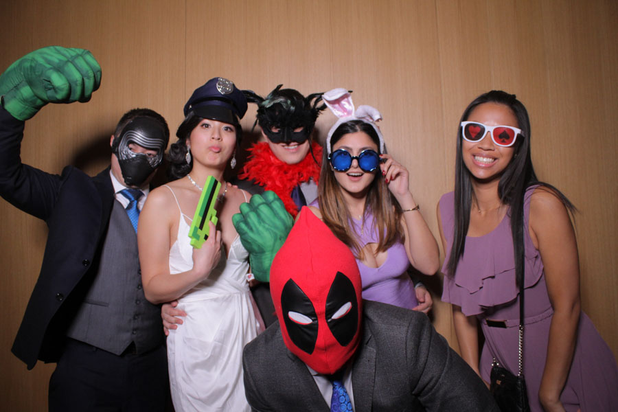 Downtown Toronto Wedding Photo Booth Rental