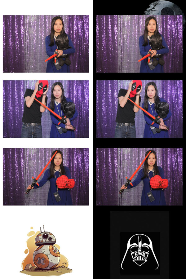 star wars theme photo booth strips toronto_1