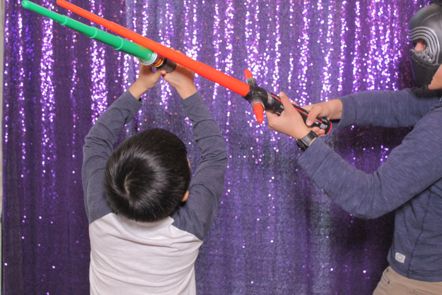 star wars theme photo booth strips toronto