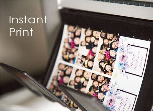 instant printing toronto photo booth rental
