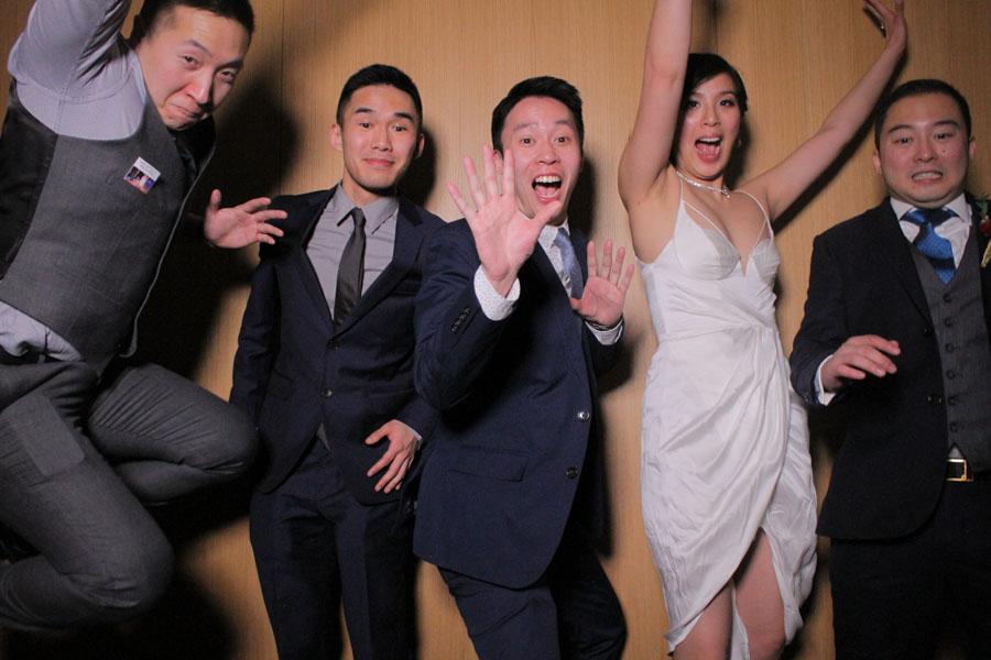 Downtown Toronto Wedding Photo Booth Rental