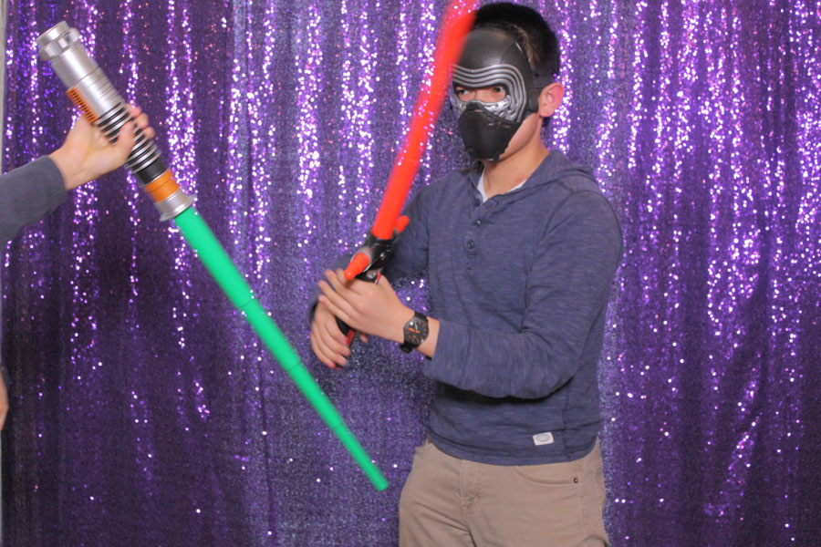 star wars theme photo booth strips toronto