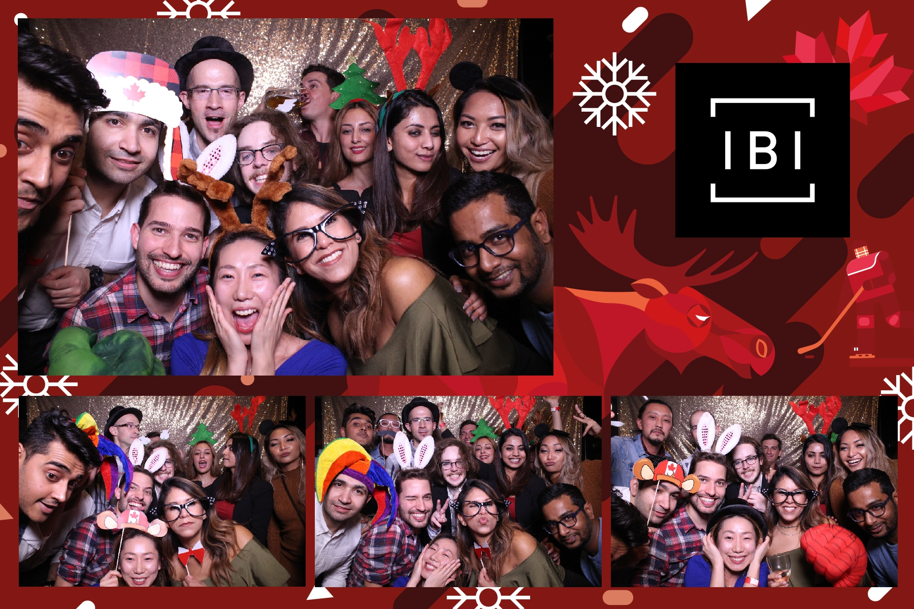 corporate brand activation photo booth toronto