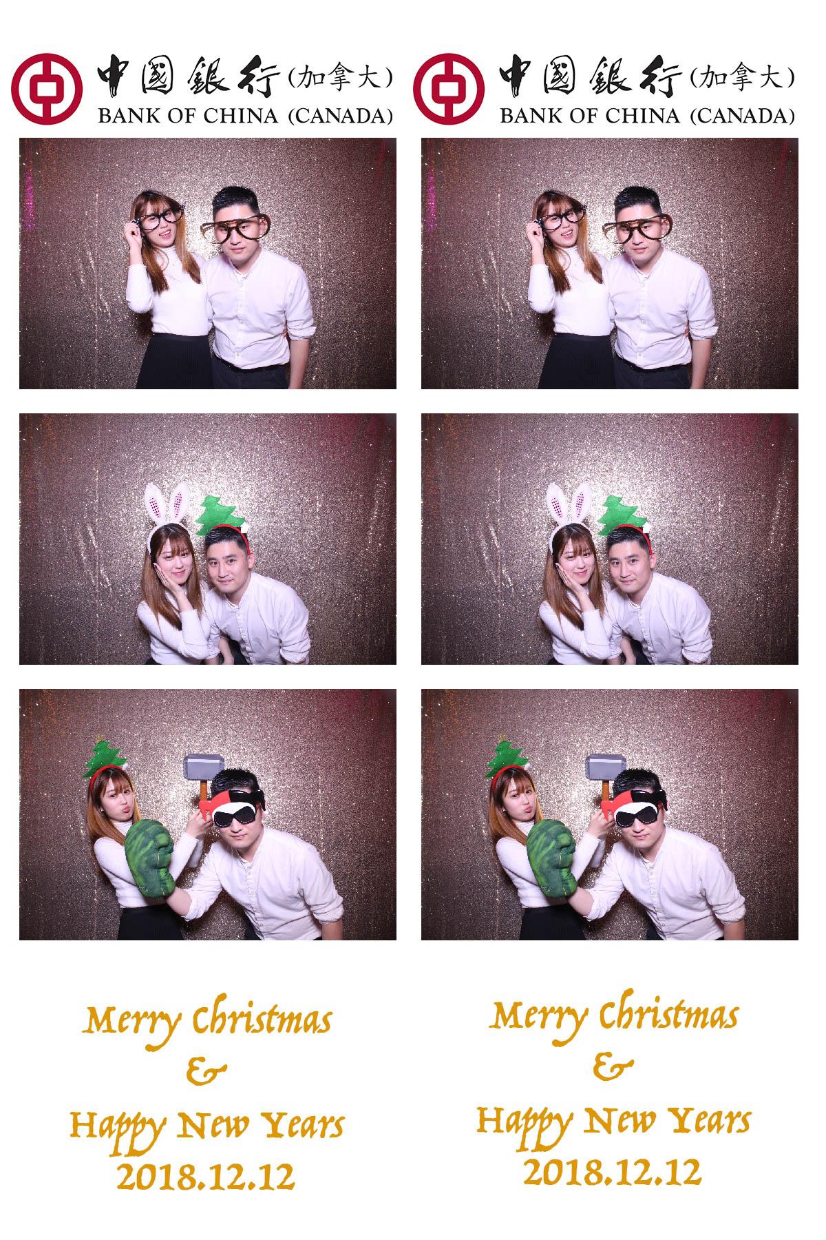 Christmas Photo Booth Rental Toronto