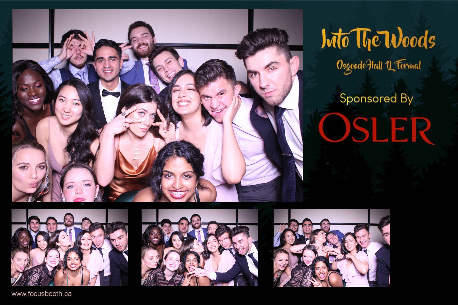 toronto school formal event photo booth