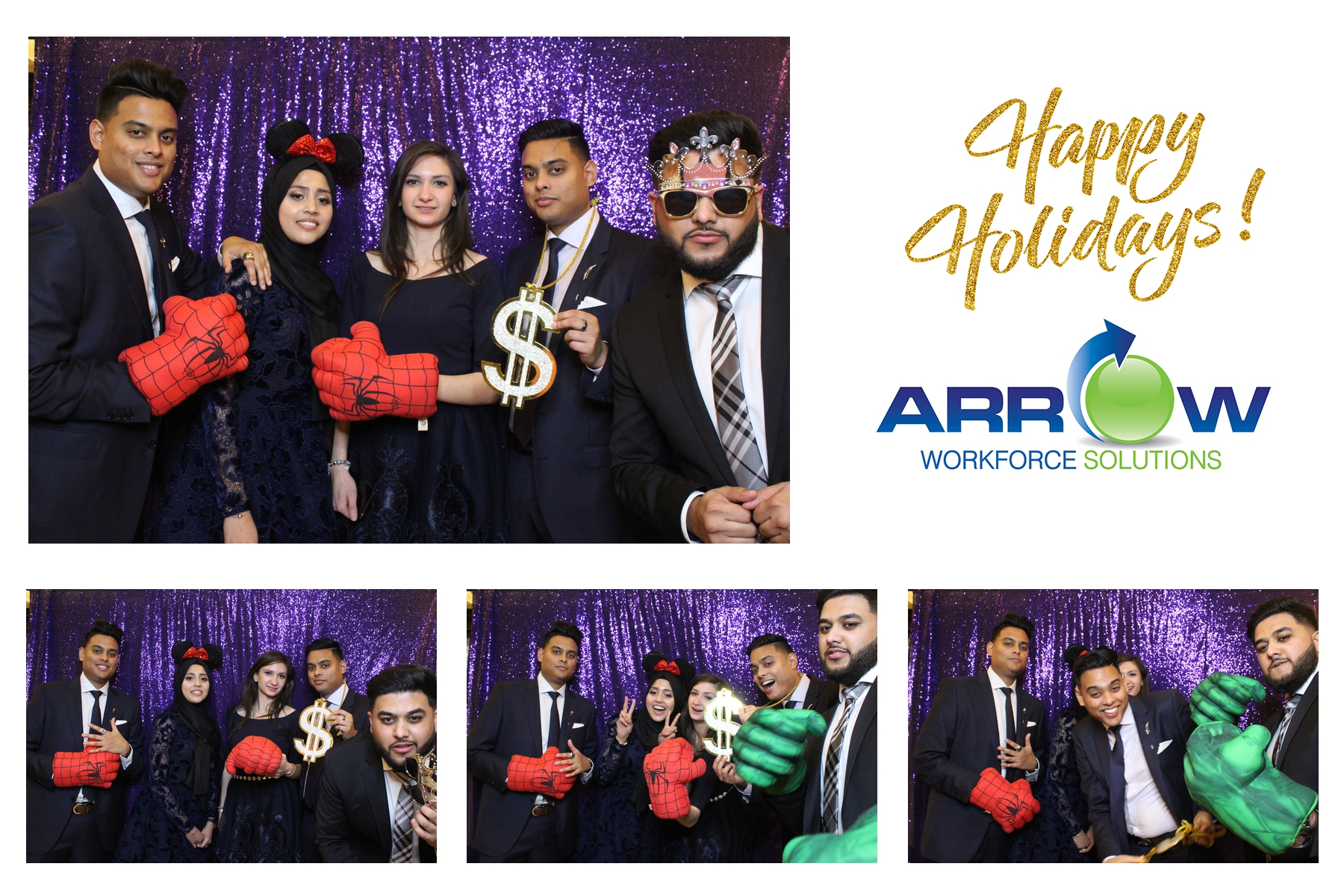 company holiday event photo booth toronto