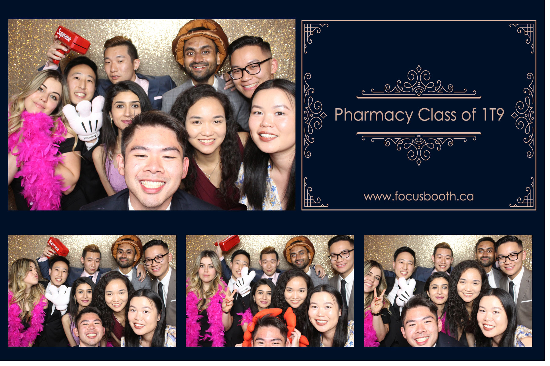 pharmacy school class event photo booth