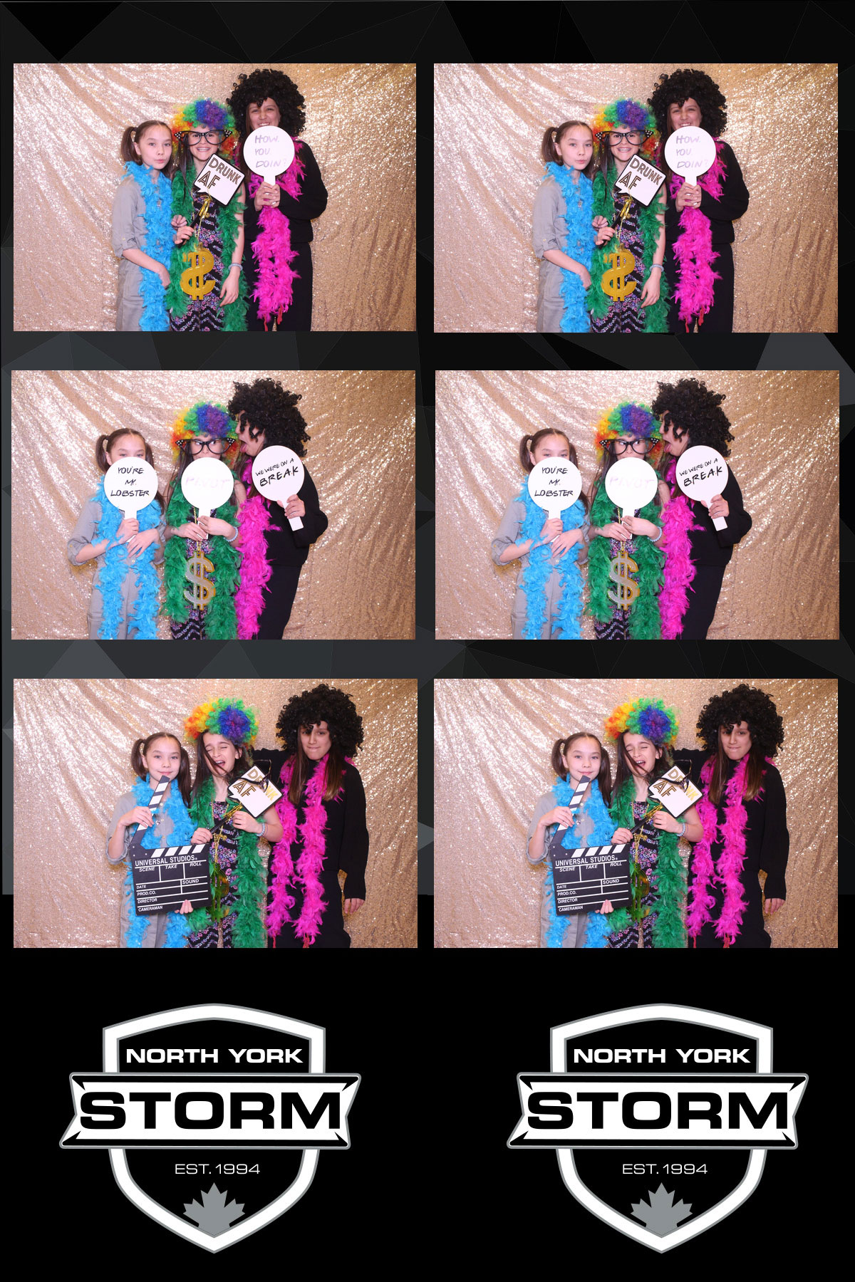 toronto north york sport event photo booth