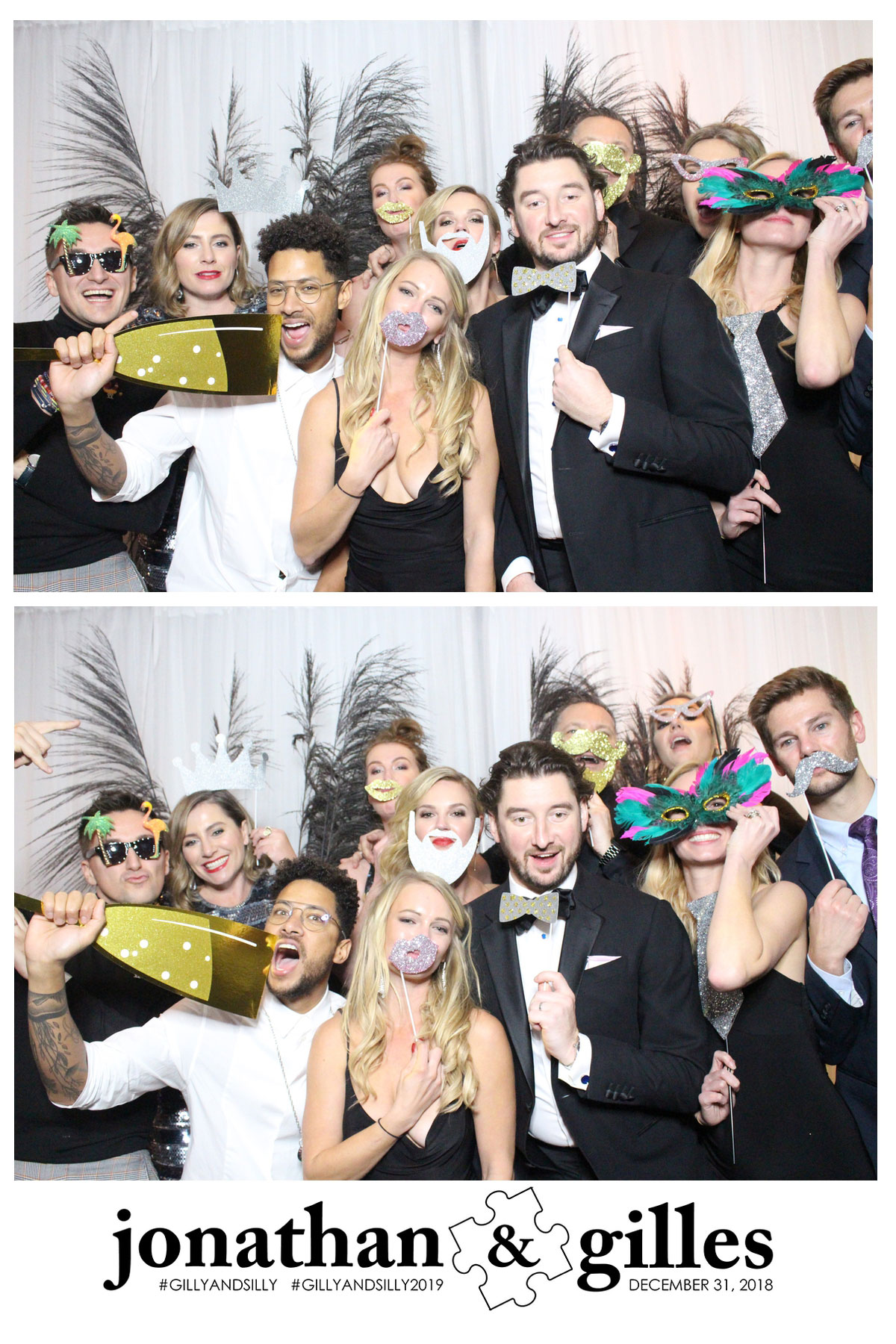 wedding event celebration photo booth